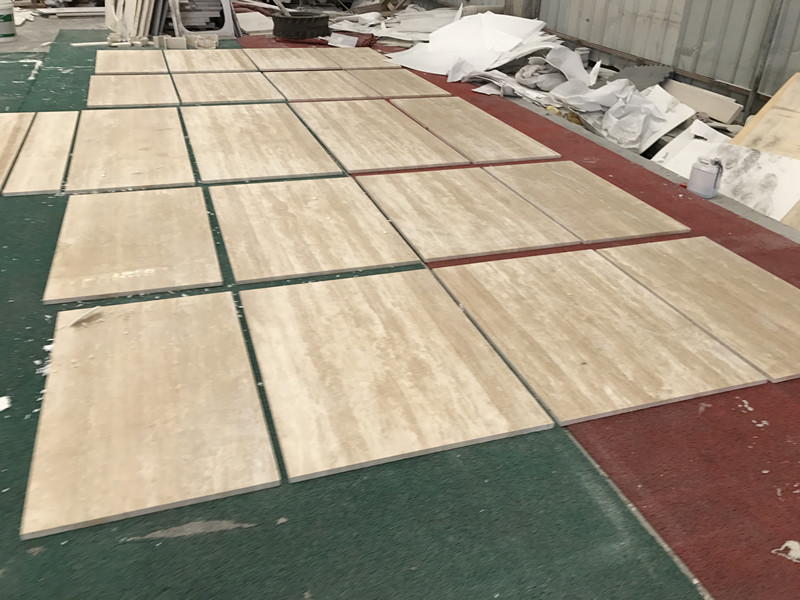 Tureky Beige Travertine Tiles