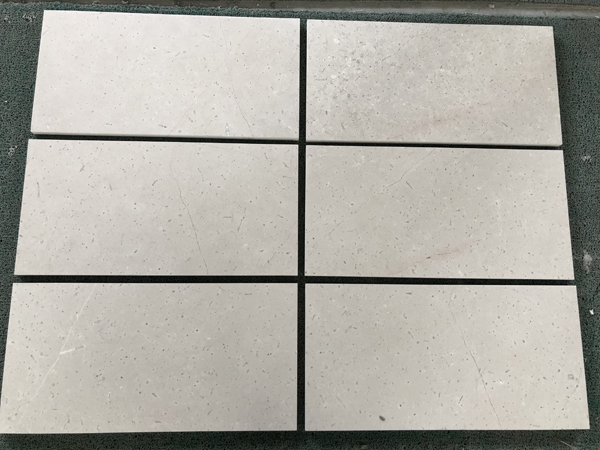 Silver Fox Marble Tiles Cream Beige Marble