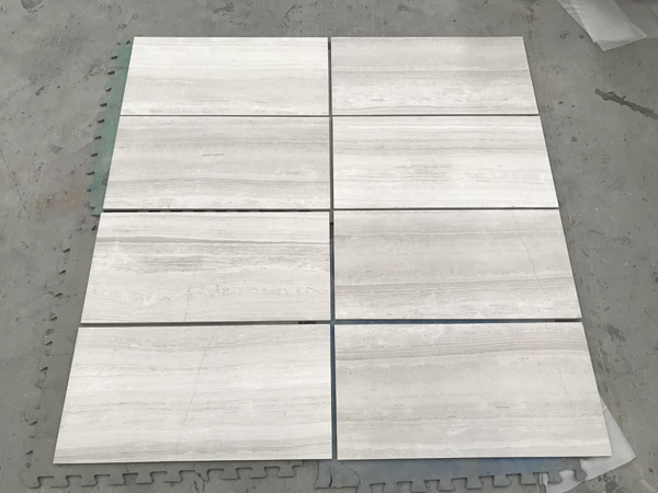 White Wood Marble Tiles Wooden White Haisa Light