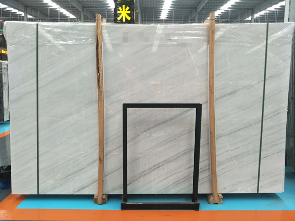 Semi White Marble Slabs Chinese White Marble