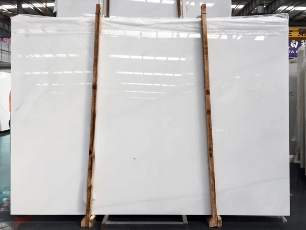 Chinese Pure White Marble Sichuan White Marble