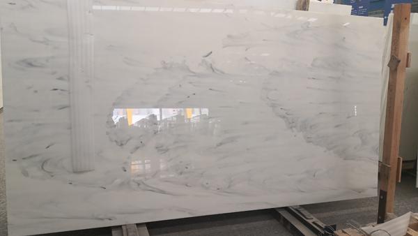 Nano Crystallized Glass Stone Nano Cararra White
