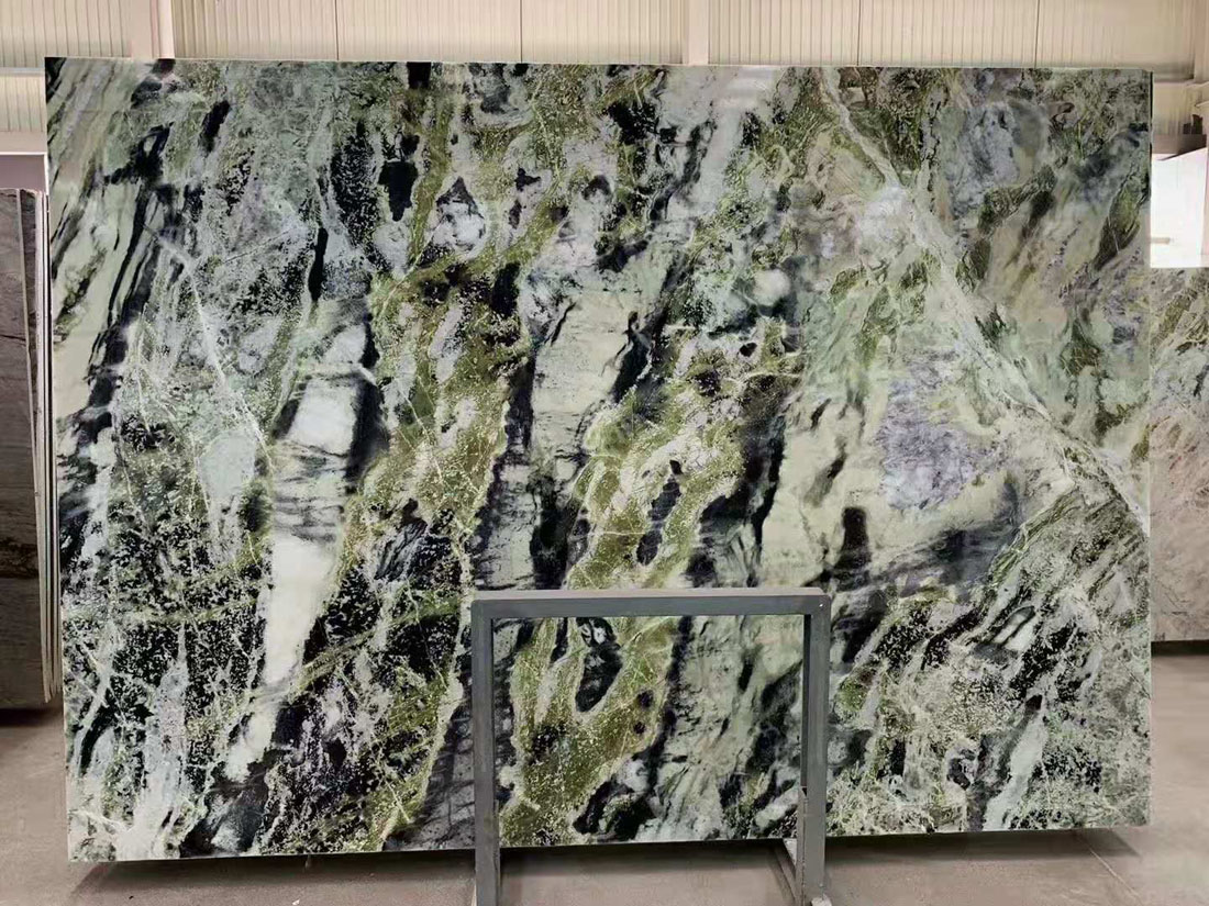 Green Marble Onyx Slab Jade Ming Green Emerald