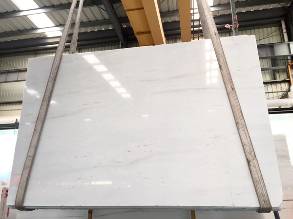 Greek Thassos Crystal White Marble Slabs
