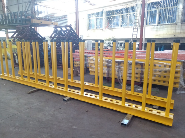 Showroom warehouse Granite Quartz Marble slab rack