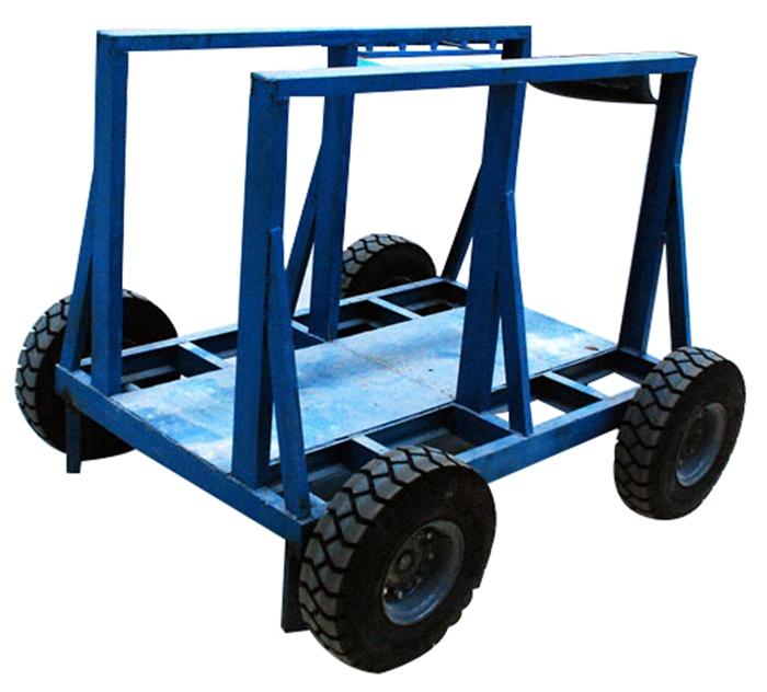 warehouse Stone bundle slab transport Cart