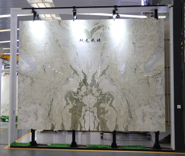 Showroom Granite Quartz Marble Slab display rack