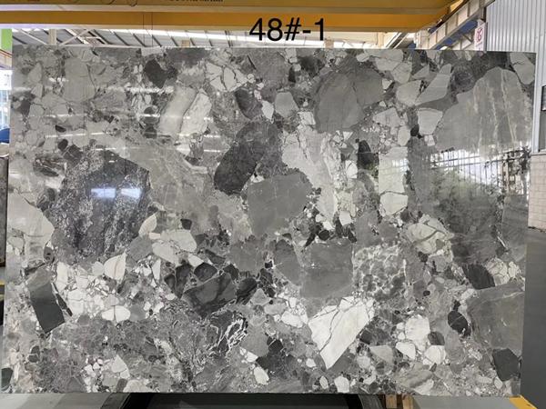 Pandora White Marble Slabs  New Grey Copico Marble
