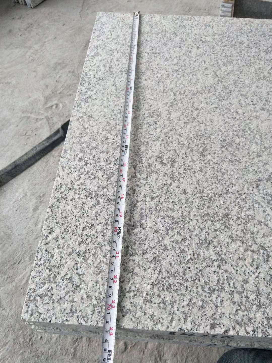 Granite outside use