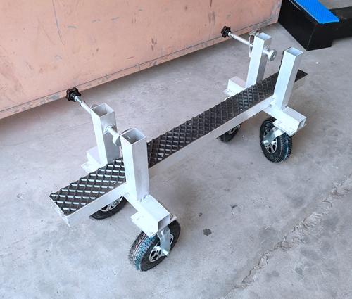 Aluminum Install Carts