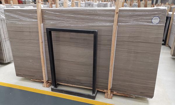 China Athens Grey Wood Marble Wood Grain Marble