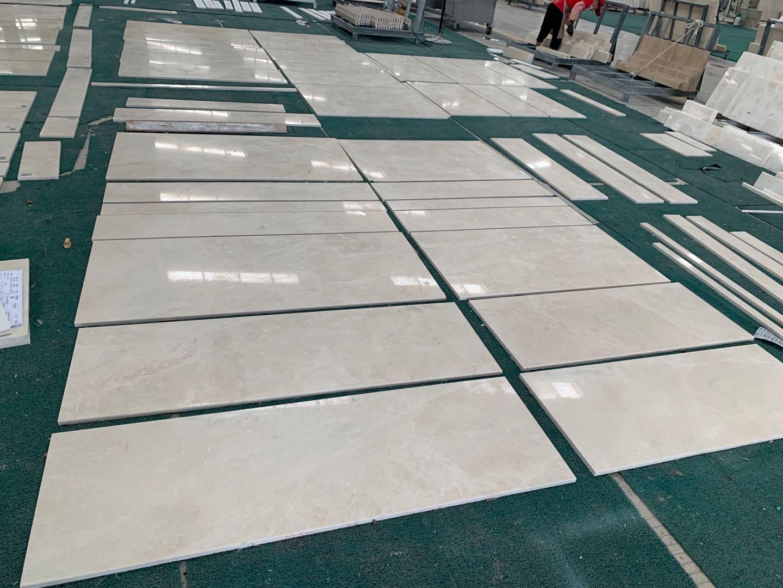 Aran White Marble Tiles