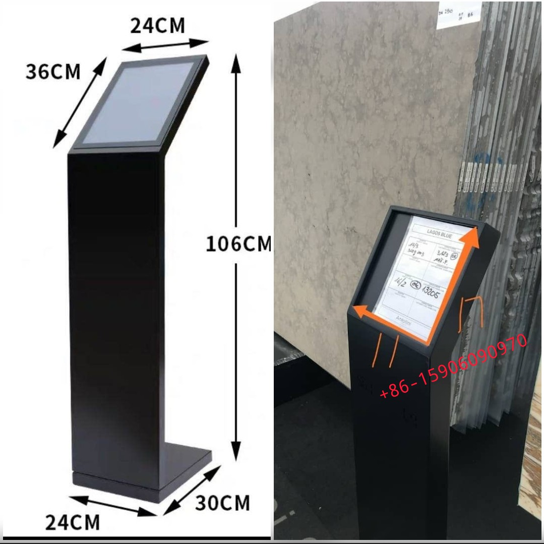 Showroom Product Info Stand