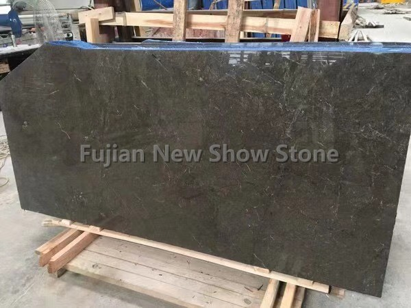 Olive gray marble dark color