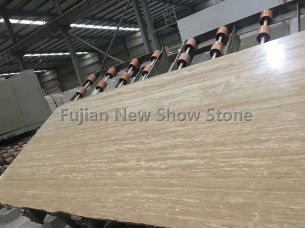 2cm beige travertine