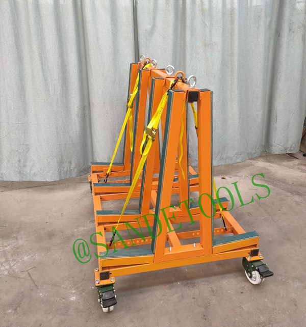 Double sided One Stop-A Frame Transport Cart