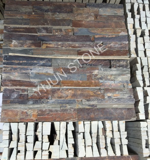 Modern House Design Natural Decorative Rusty Stone Wall Cladding Cultured Stone