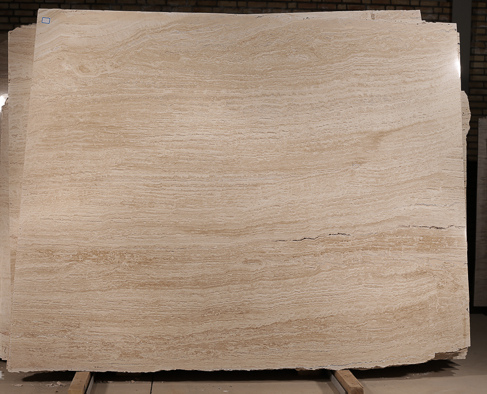 Abbas Abad Light Travertine Slab