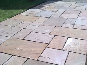 Autumn Brown Sandstone Tiles