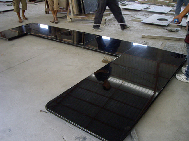 Shanxi Black Granite Kitchen Countertop