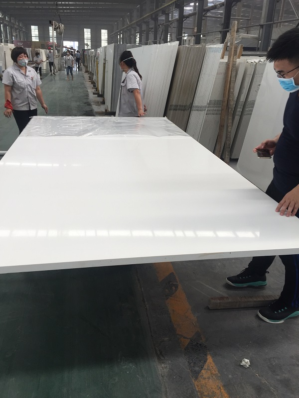 absolute white quartz stone