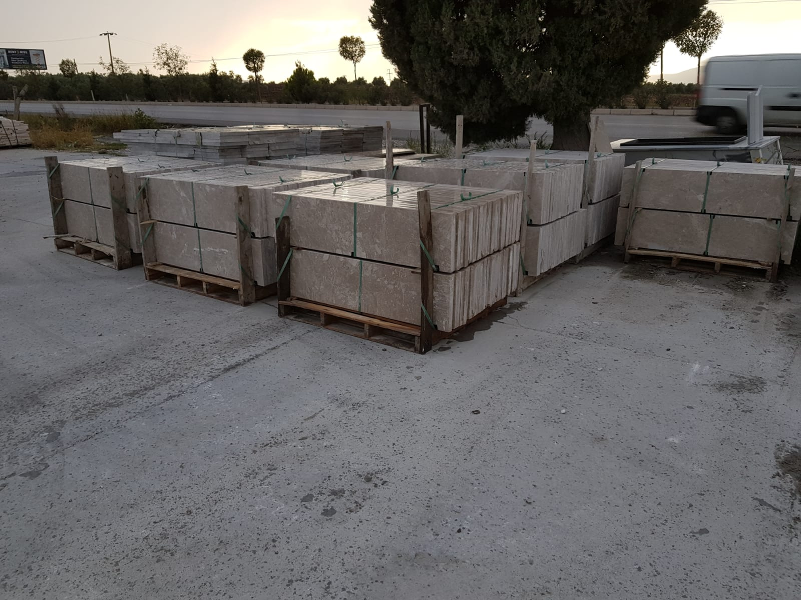 Active Grey Marble Tiles