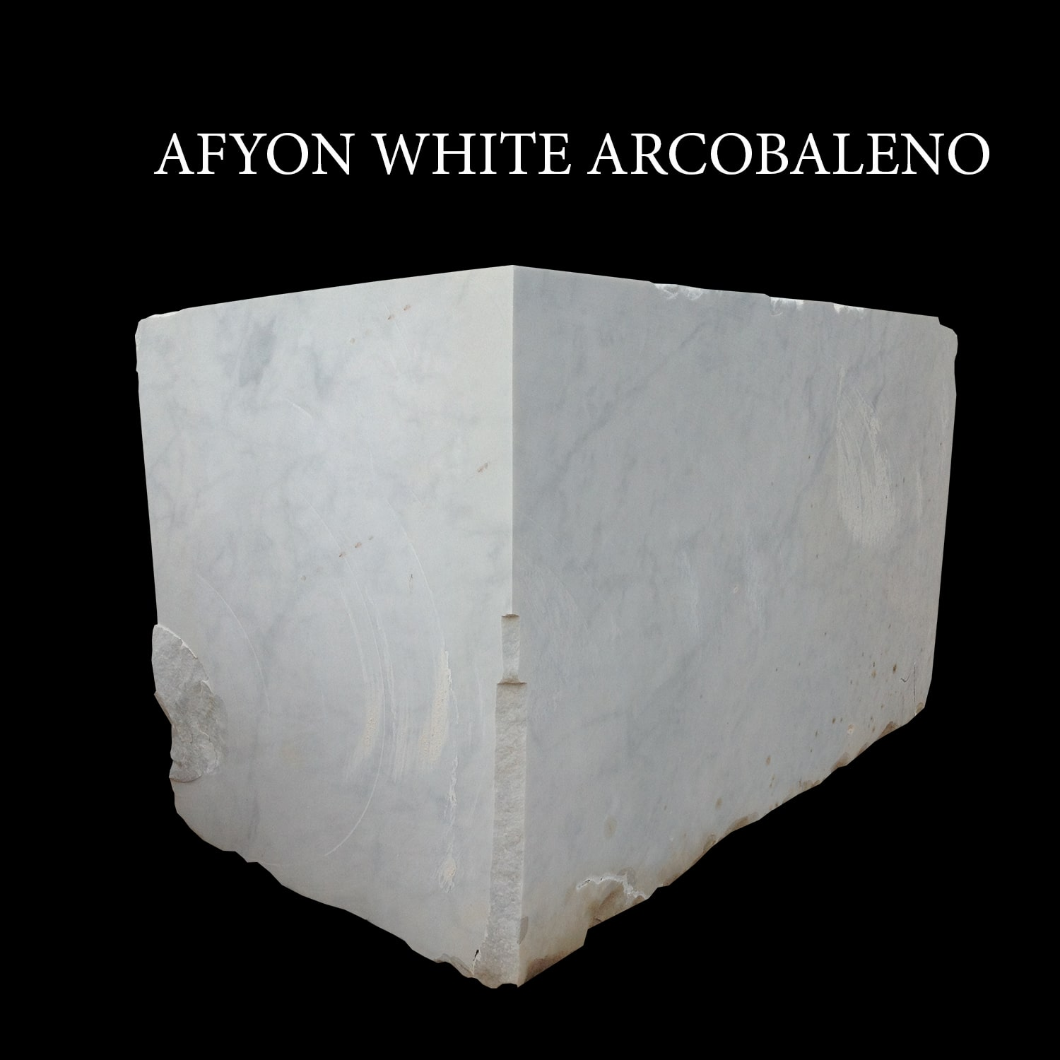 Afyon White Arcobaleno Blocks