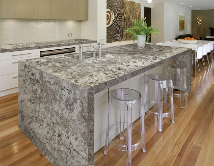 Alaskan white granite