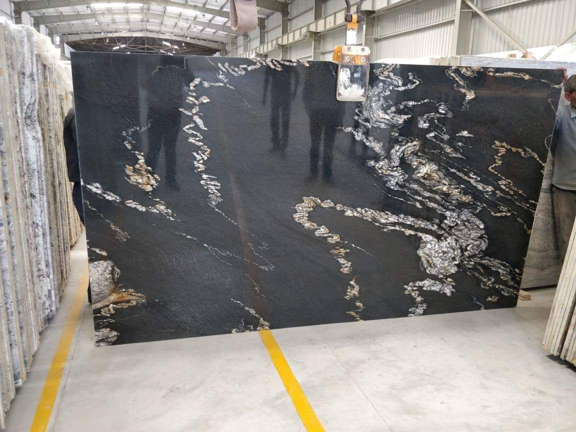 Alaska Black Granite
