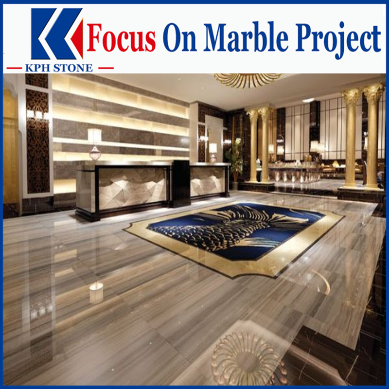 Palissandro Azzurro Marble tiles decor for Marriott Hotels & Resorts