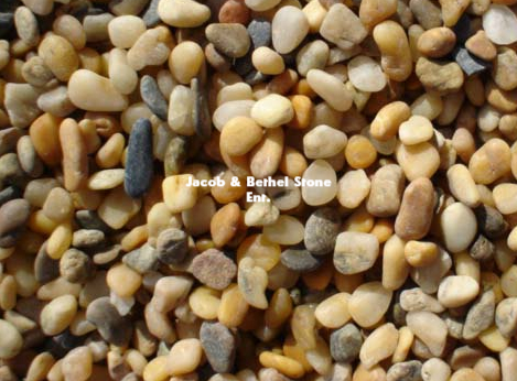 AMP PEBBLES Yellow GRAVEL