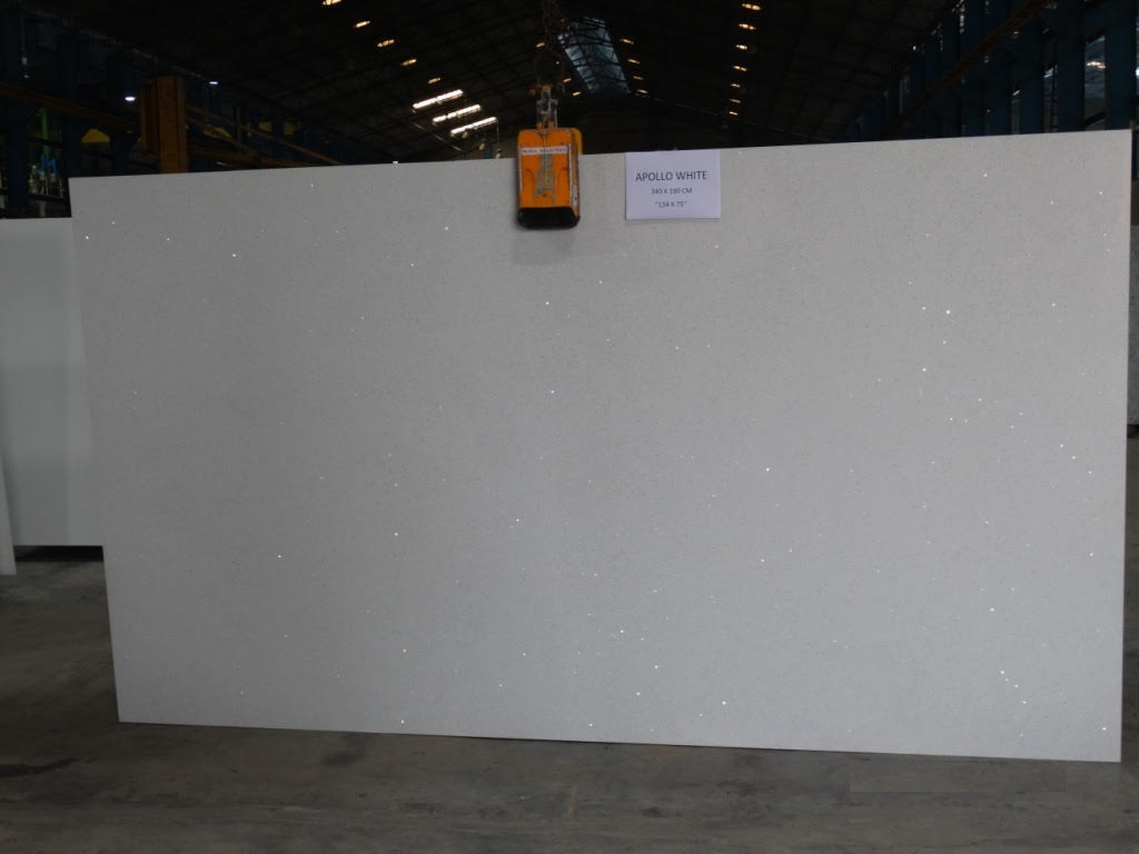 Apolo White Quartz Slabs