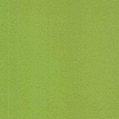Pure apple green color artificial quartz stone China
