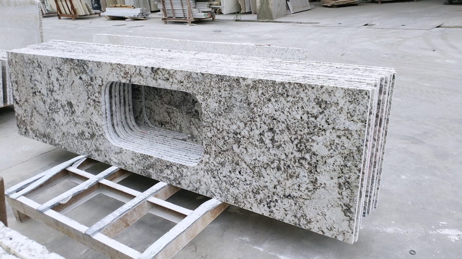 countertop aran white granite