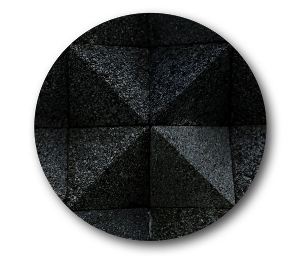 Bali Lava Stone Tiles Diamond Cut