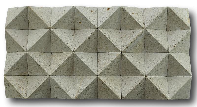 Bali Limestone Cladding Diamond Cut