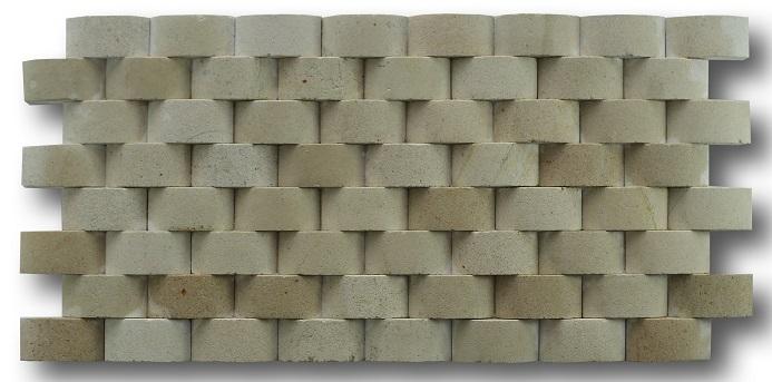 Bali Limestone Cladding Helios Shape