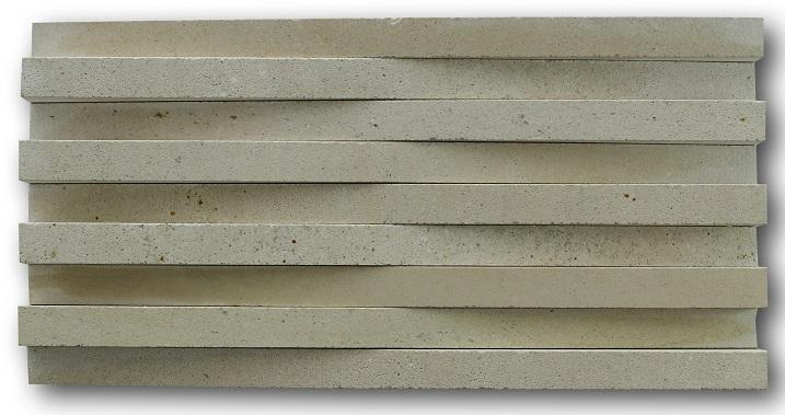 Bali Limestone Cladding Linear Cut