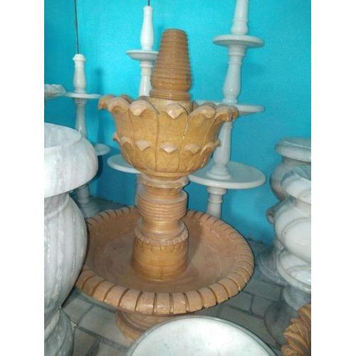 Beautiful Sandstone Fountains