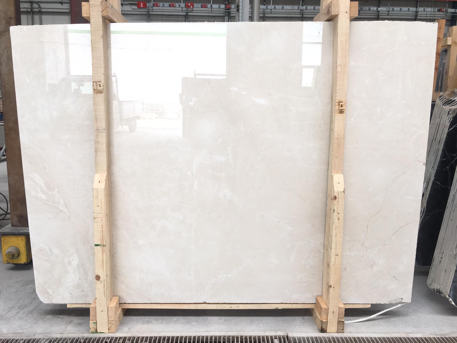 Cream Beige Marble Slab