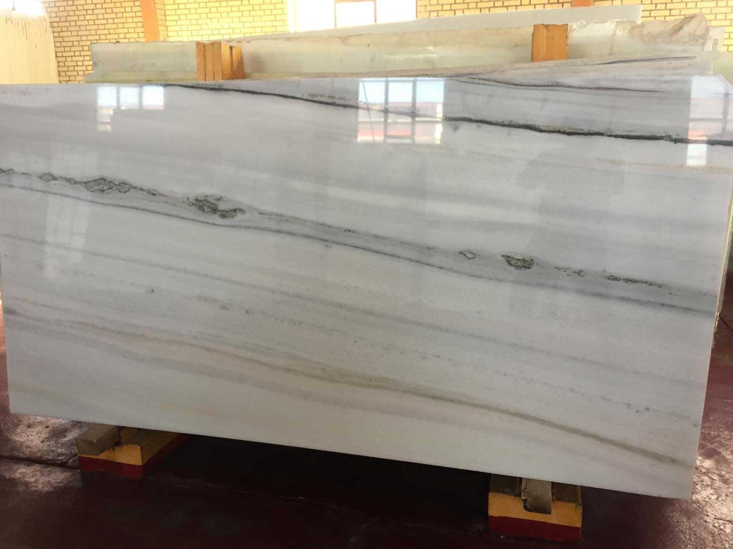 Afgan White Marble Slab