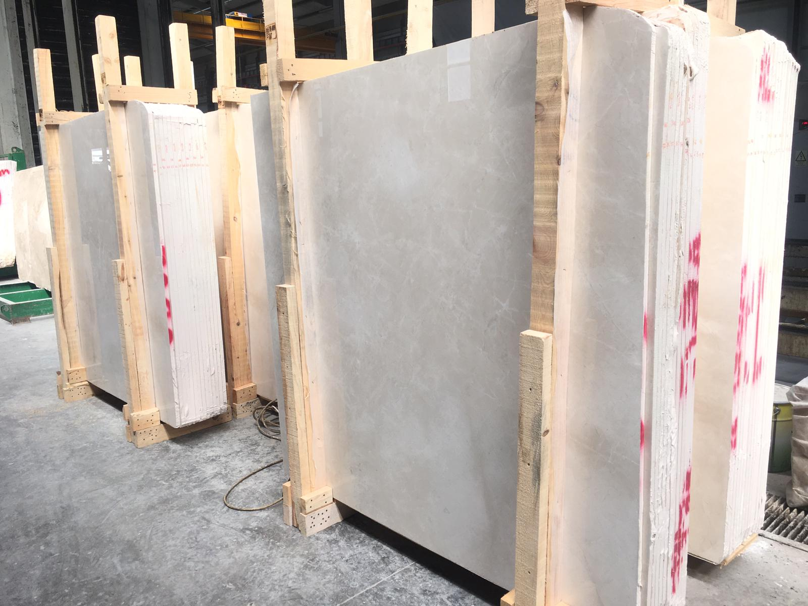 Beige Marble Polished Slabs