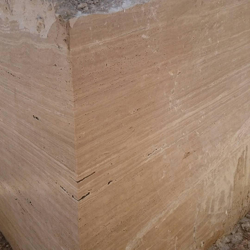 Beige Travertine Natural Stone Blocks
