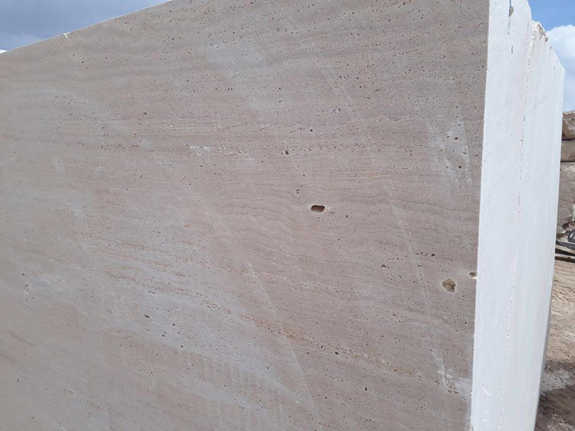 Beige Travertine Blocks