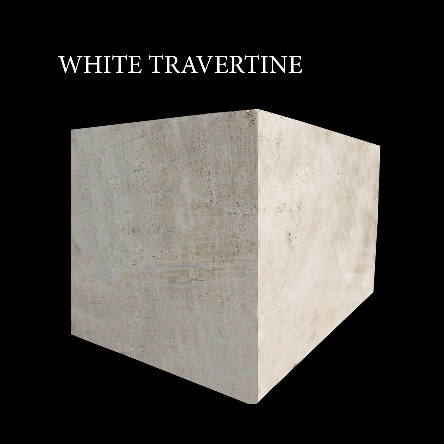 White Travertine Blocks   Ivory Cream Blocks
