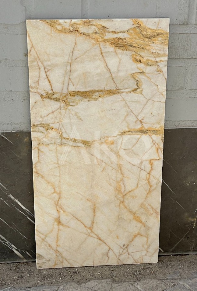 Bianco Extra Gold Marble Tile