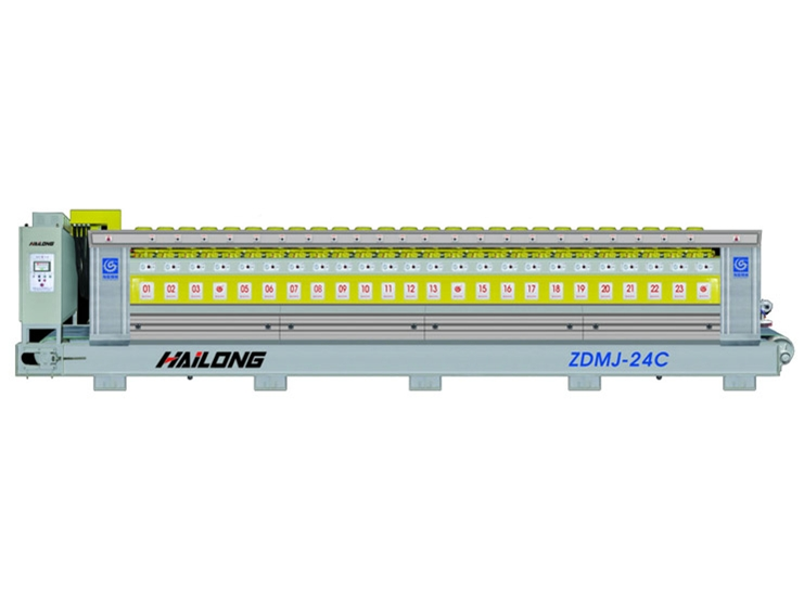 ZDMJ 24C Granite Automatic Polishing Machine For Slate