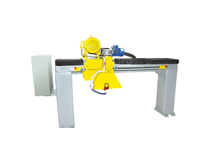 Slab edge cutting machine