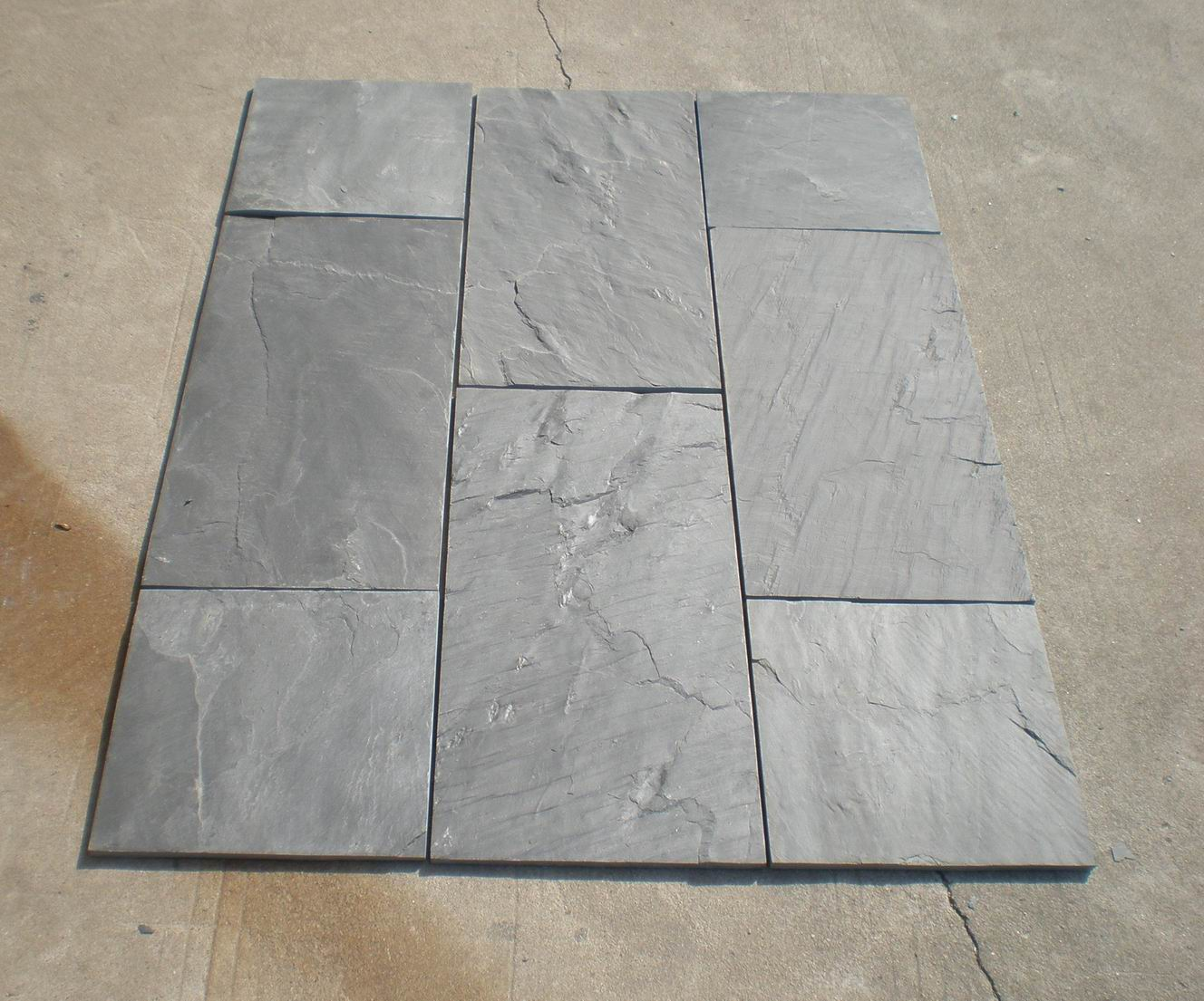black slate packing