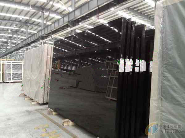 Super nano glass black crystallized glass stone panel